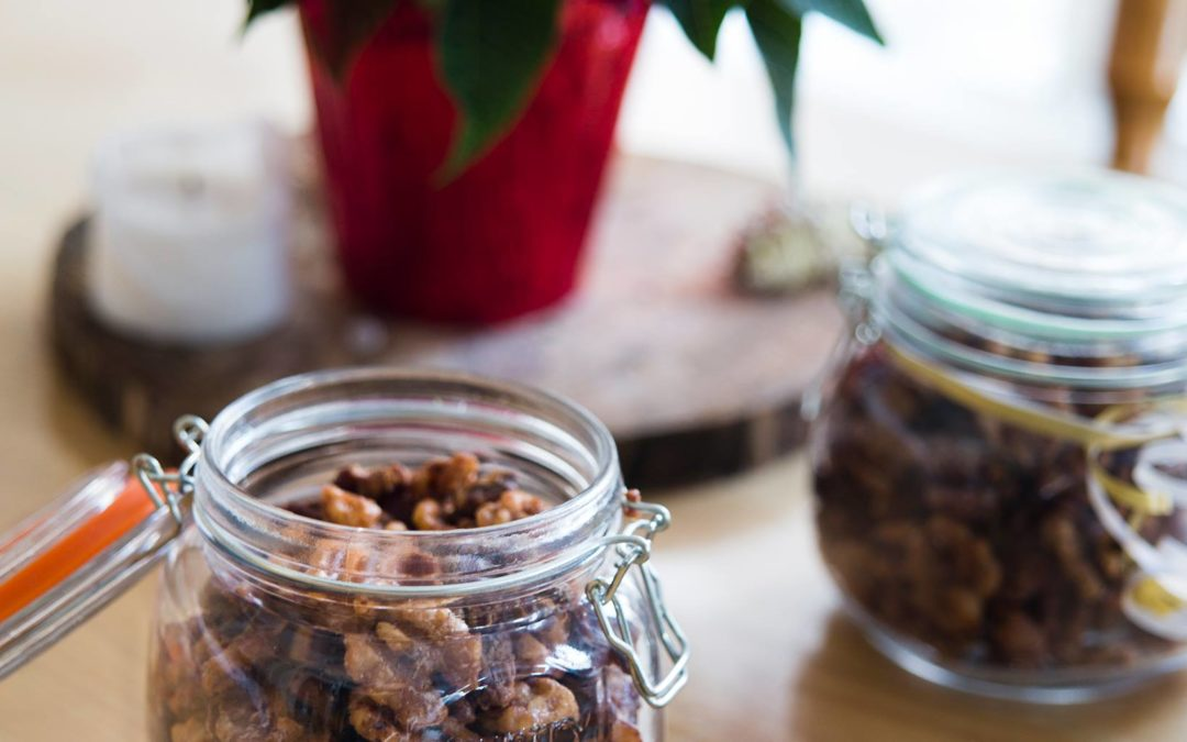 RECIPE: Maple Sweet N' Salty Roasted Nuts