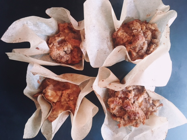 RECIPE: Apple Cinnamon Muffins